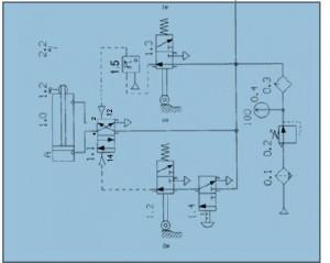 ASÉBI 4 - Schématisation pneumatique et hydraulique